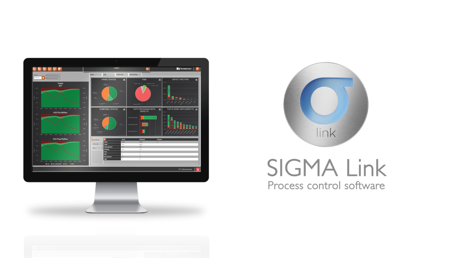 MATAS ELECTRONICS talks about SIGMA LINK Process control software from Vi TECHNOLOGY